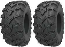 Pair 2 Kenda Bearclaw EVO 25x10-12 ATV Tire Set 25x10x12 K592 25-10-12