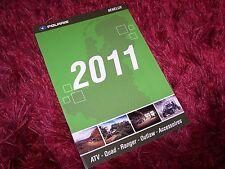 Catalogue / Brochure POLARIS Gamme / Full line ATV / Quad / UTV 2011  //