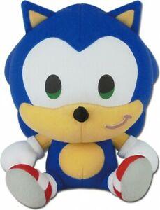 Sonic The Hedgehog Sonic 7-Inch SD Plush [Sitting]