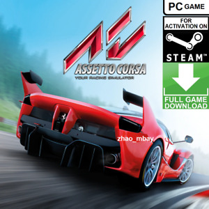 Assetto Corsa Racing Simulator PC Steam Key Global FAST DELIVERY! [KEY ONLY!]