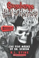 Goosebumps Hall of Horrors #3: The Five Masks of Dr. Screem: Special Edition by
