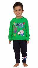 Thepyjamafactory Team George Pig Football Pyjamas 2 to 5 Years W15 ...