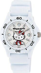 CITIZEN Q&Q VQ75-431 Hello Kitty Analog 10BAR Diver Watch Ladies from Japan