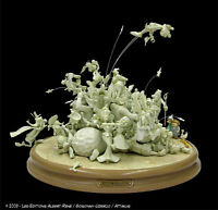 "Sculpture ASTERIX  ""LA BAGARRE"" , TL : N° 02/50 , Sgné / UDERZO , Attakus , neuf"