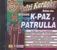 KPaz De La Sierra Patrulla 81  Karaoke Nuevo sealed