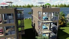 6-PLEX  2Bd/2Bth  3,840 sq.ft Apartment Shipping Container- Financing Available!