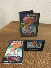Sega Genesis Sonic The Hedgehog 2 Not For Resale CIB Complete