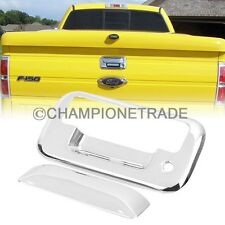 US Chrome Tail Rear Door Handle Cover for 04-14 Ford F150 F250-550 Super Duty CT