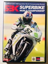 SBK Superbike World Championship 2007 FIM Official Review (DVD) Region ALL *LN*