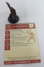 Exarch of Tyranny #30/60 Warpriest of Vandria #23/60 Miniatures w/Card D&D 2007