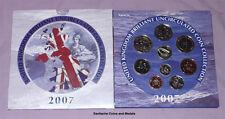 2007 ROYAL MINT BRILLIANT UNC SET COINS - 2 x £2 Coins & Scouting 50p