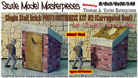 Scale Model Masterpieces/Yorke Brick Privy/Outhouse Kit #3 O/1:48