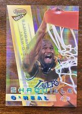 SHAQ 1996-97 Bowman's Best Shots ATOMIC REFRACTOR SHAQUILLE O'NEAL #BS3
