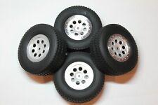 "HPI Mini Trophy Truck Tires and Wheels, 12mm hex, 1.9"" wheel, crawler scaler"