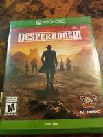 Desperados III - Xbox One - Brand New - FREE SHIPPING