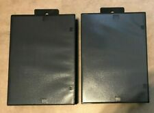Lot 2 NEW Sega Genesis Empty Replacement Game Cases Blank Clamshell USA seller