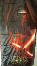 Star Wars The Force Awakens Sleeping Bag in Excellent Condition