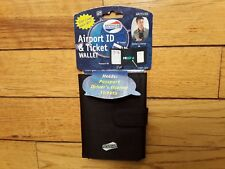 American Tourister Airport ID & Ticket Wallet New