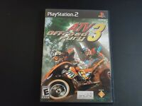 ATV Offroad Fury 3 Black Label Sony Playstation 2 PS2 LN perfect cond COMPLETE