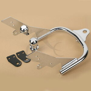 Chrome Trailer Hitch w/ Ball Fit For Harley Electra Road King Glide FLTR 94-2008