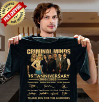 CRIMINAL MINDS - 15TH ANNIVERSARY 2005-2020 SHIRT