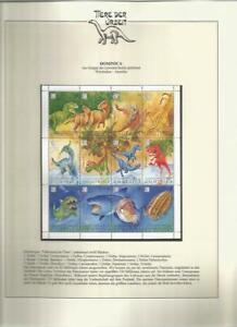 81556/ Dinosaurier Fauna Tiere ** MNH OHNE VORDRUCK DOMINICA