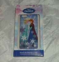 Disney Frozen Elsa Anna Sister iPhone 5 5s Phone Case Hard Cover snap on Offical