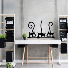 Black Cat Funny wall Sticker Children Bedroom Wall Decal Home Decor Chic