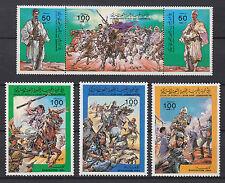 Libyen 1405 -1410 postfrisch Vertreibung der ausländischen Truppen