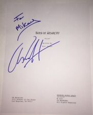 Charlie Hunnam Signed Sons of Anarchy Script Exact Proof W/COA