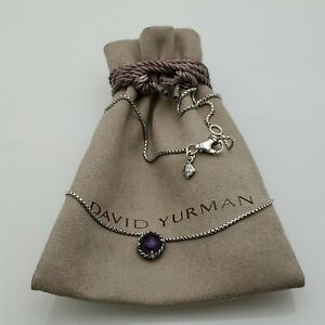 David Yurman Women's Chatelaine Amethyst Pendant Necklace