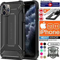 For iPhone 12 11 XR XS Pro Max 7 8 Plus Shockproof Case Armor Heavy Duty Cover