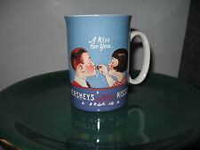 A Kiss for You HERSEY'S Milk Chocolate KISSES tea coffee cup Vintage look
