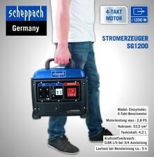 Scheppach Inverter- Stromerzeuger Aggregat Notstromaggregat 4-Takt SG1200