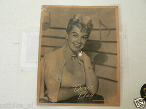 EP DORIS DAY WARNER BROS THE PYAMA  GAME PICTURE DISK VINTAGE SOUNDCARD 7 INCH