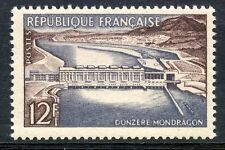 TIMBRE FRANCE NEUF N° 1078 * BARRAGE DE DONZERE MONDRAGON / NEUF CHARNIERE