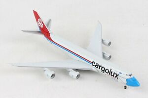 """HE534895 HERPA WINGS CARGOLUX BOEING 747-8F 1/500 DIE-CAST """"NOT WITHOUT MY MASK"""""""