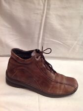 Padders Brown Ankle Leather Boots Size 38