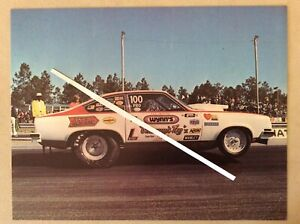 1974 Bill Jenkins Grumpy's Toy Pro Stock Vega Wynn's NHRA Drag Racing Handout