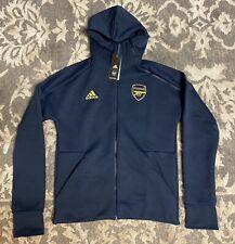Adidas Arsenal FC ZNE HD 3.0 Full Zip Hoodie Navy Blue Mens Sz Medium EH5612 NEW
