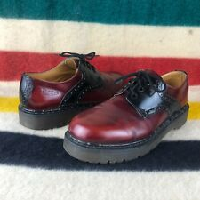 Doc Dr. Marten Oxblood Red Leather Casual Men's Shoes Sz 9 8277 S017