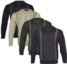 Unbranded Cotton Regular Striped Jumpers & Cardigans for Men