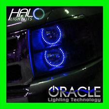 2007-2013 Chevy Silverado BLUE LED Headlight Round V1 Halo Ring Kit by Oracle