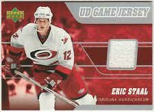 2006-07 Upper Deck Eric Staal #J2-ES Hockey Card UD Game Jersey