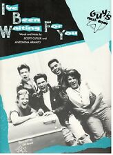 "GUYS NEXT DOOR ""I'VE BEEN WAITING FOR YOU"" SHEET MUSIC-PIANO/VOCAL/CHORDS-NEW!!"