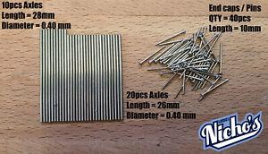 Premium Axles 10 Individual sets value pack - Modification Parts