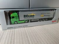 Scania CR Regro Transport Schweiz calag fahrzeugbau  Schubboden Aufl. 938198