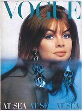 JEAN SHRIMPTON Jill Kennington VERUSCHKA David Hemmings VOGUE magazine July 1966