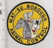 US Police Patch Matanuska-Susitna Borough Alaska Animal Control