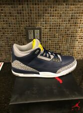 d0f403529f326 RARE DS Air Jordan III 3 Michigan University PE sz 14 Player Exclusive 11 12  4